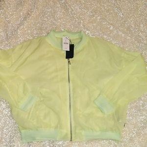 Cotton on body,  lemon lime jacket Size:M/L